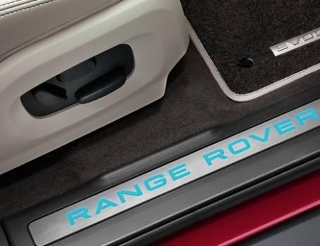 Range Rover Evoque Accessories Illuminated Tread Plates