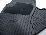 X-Type Accessories RUBBER FLOOR MATS (Front up to VIN #D86654)