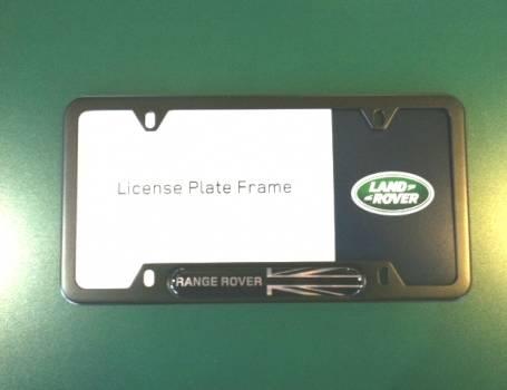 SPORT <br />(2014 & UP) Range Rover Plate Frame (Black)-Land Rover ...