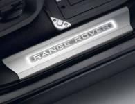 RANGE ROVER<br />(2013 & UP)   LONG WHEELBASE ILLUMINATED TREAD PLATES