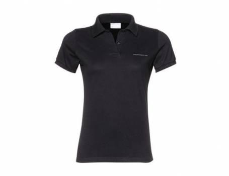 Women's Classic Black Polo Shirt