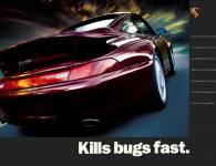 "Lifestyle ""Kills Bugs Fast"" Classic Enamel Sign"
