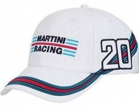 Martini Racing White Baseball Cap