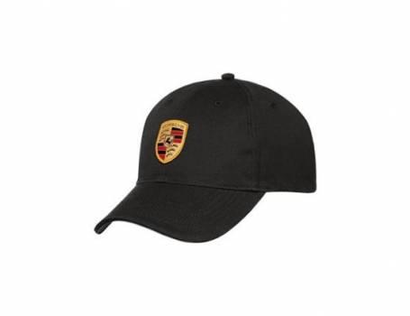 Black Crest Cap